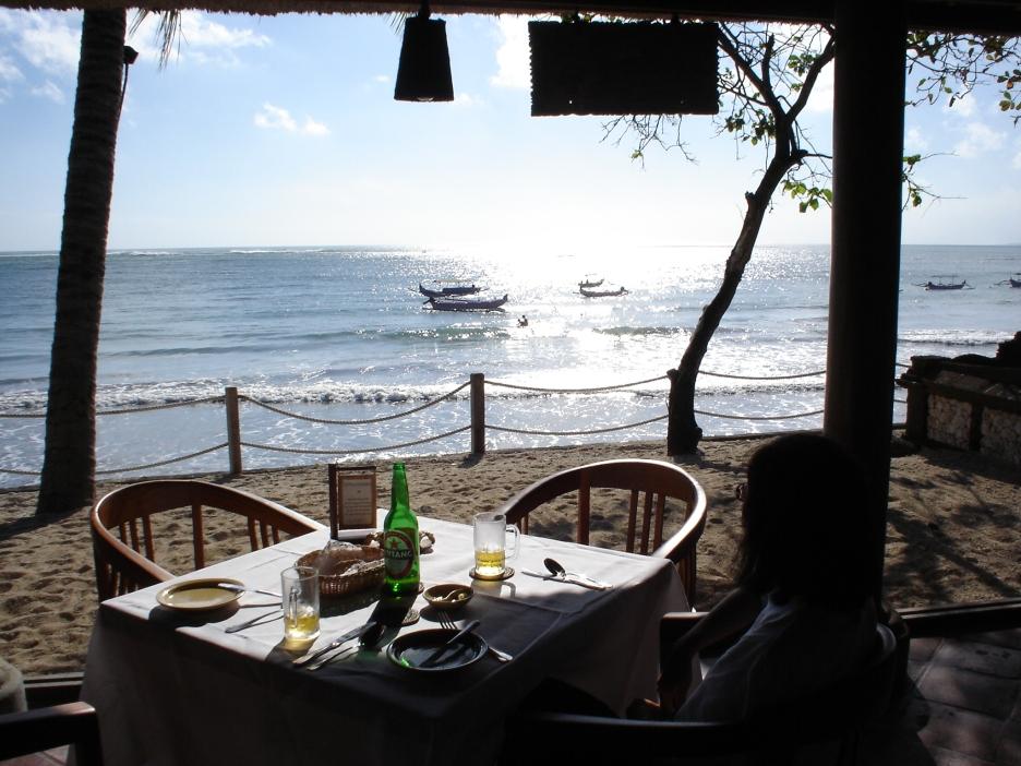 Restaurant near Berawa bungalow