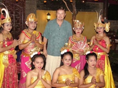 Bali Dancers and me